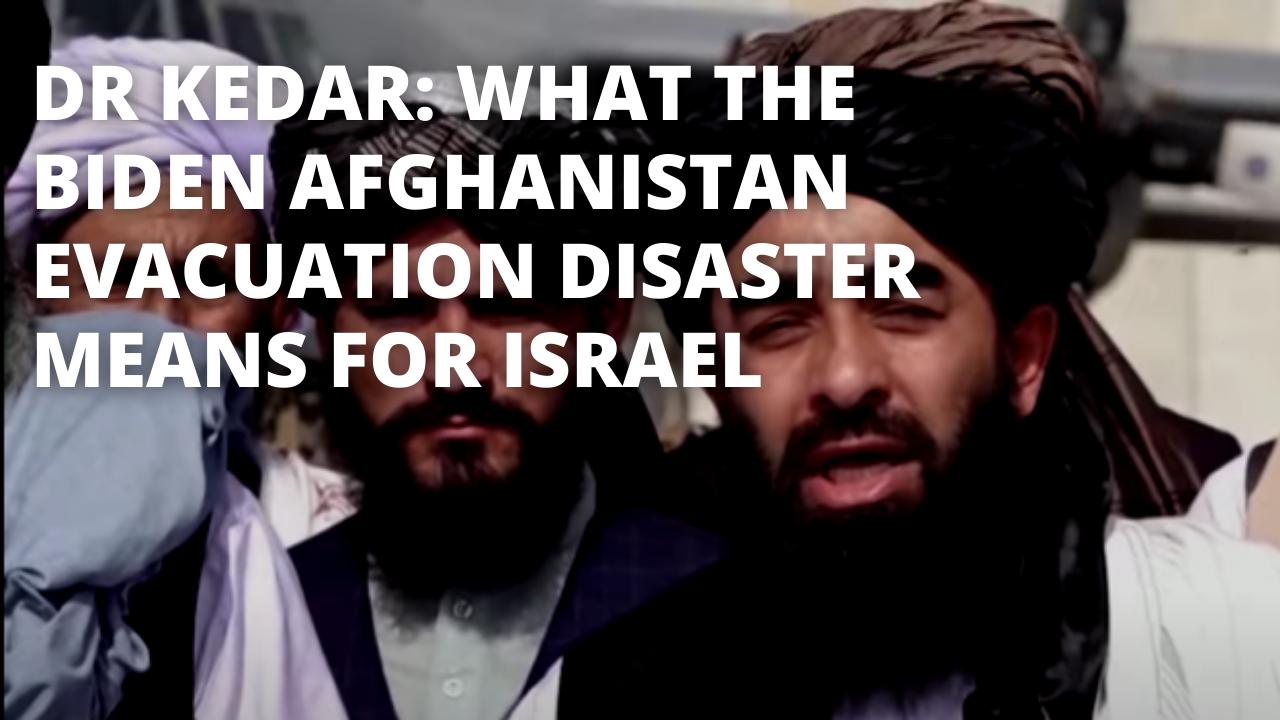 Dr. Kedar on Afghanistan